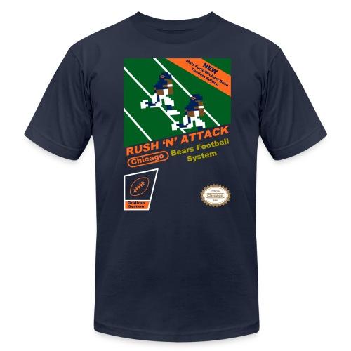 Rush 'N' Attack 8-Bit - Men's Fine Jersey T-Shirt