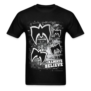 Ultimate Warrior Always Believe Distressed Shirt - Men's T-Shirt
