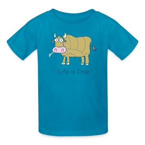 Cow Cut Chart - Kids T-shirt - Kids' T-Shirt