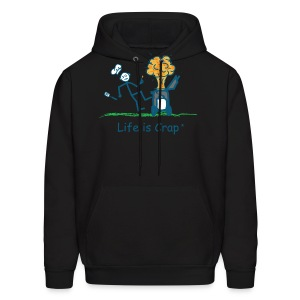 BBQ Explosion - Mens Hooded Sweatshirt - Men's Hoodie