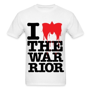 Ultimate Warrior I Love The Warrior Shirt - Men's T-Shirt