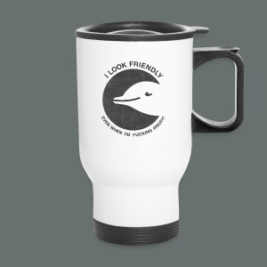 friendly dolphin - Travel Mug