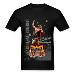 Ultimate Warrior Limited Edition Tribute Shirt - Men's T-Shirt