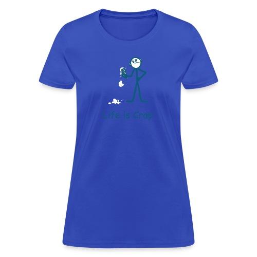 Ice Cream Drop - Womens Classic T-shirt - Women's T-Shirt