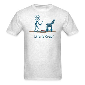 BBQ Steak Drop - Mens Classic T-shirt - Men's T-Shirt