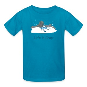 Ice Fishing - Kid's Tee - Kids' T-Shirt