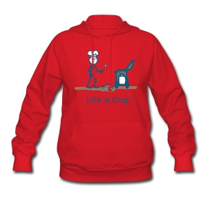 BBQ Steak Drop - Womens Hooded Sweatshirt - Women's Hoodie