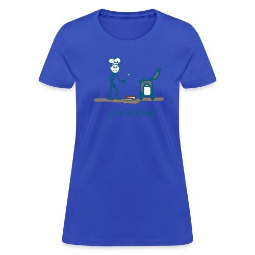 BBQ Steak Drop - Womens Classic T-shirt - Women's T-Shirt