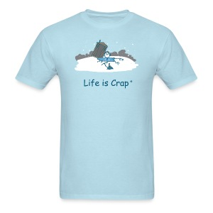 Ice Fishing - Men's Classic Tees - Men's T-Shirt