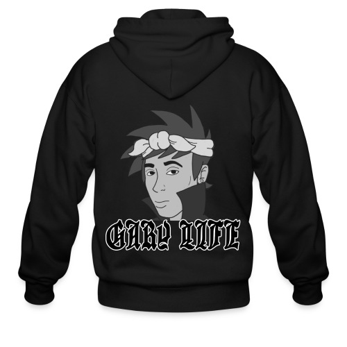 Gary Life Zipper Hoodie - Men's Zip Hoodie