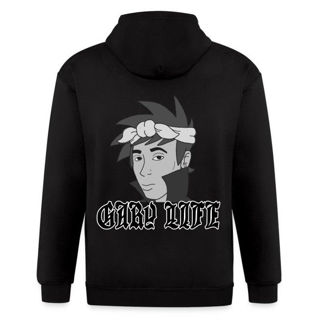 Gary Life Zipper Hoodie