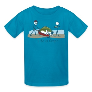 Bass Fish - Kids Tee - Kids' T-Shirt