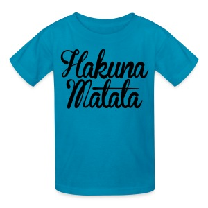 Hakuna Matata Kids' Shirts - stayflyclothing.com - Kids' T-Shirt
