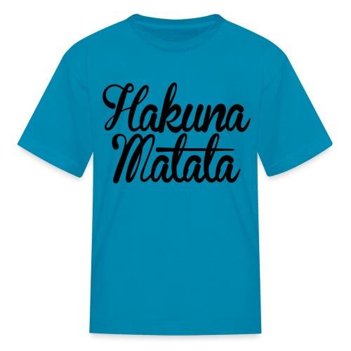 Hakuna Matata Kids' Shirts - stayflyclothing.com - Kids' T-Shirt