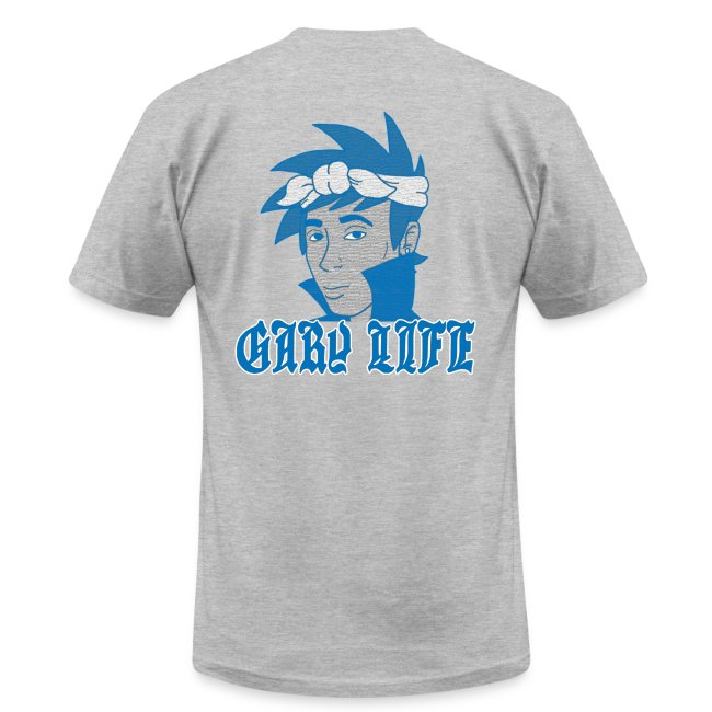 Gary Life American Apparel T - Blue Version