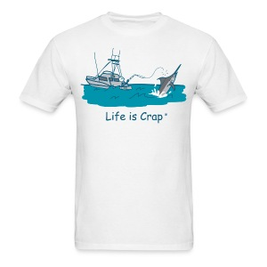 Marlin Line Snap - Men's Classic Tee - Men's T-Shirt