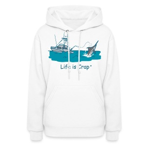 Marlin Line Snap - Women's Hooded Sweatshirt - Women's Hoodie
