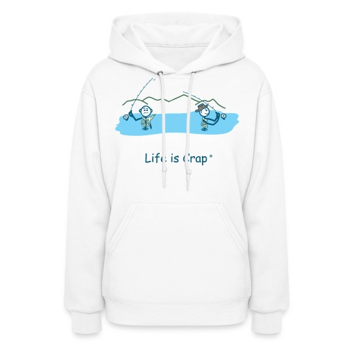 Flyfishing Snag - Women's Hooded Sweatshirt - Women's Hoodie