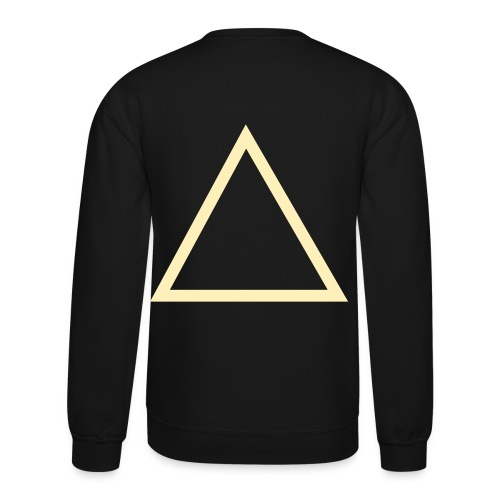 Triangle Mens CrewNeck - Crewneck Sweatshirt