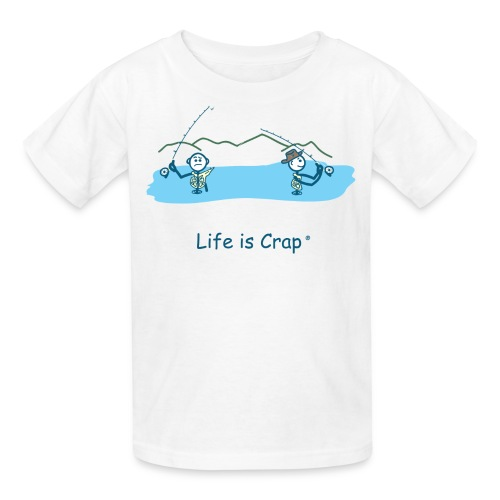 Flyfishing Snag - Kid's Tee - Kids' T-Shirt