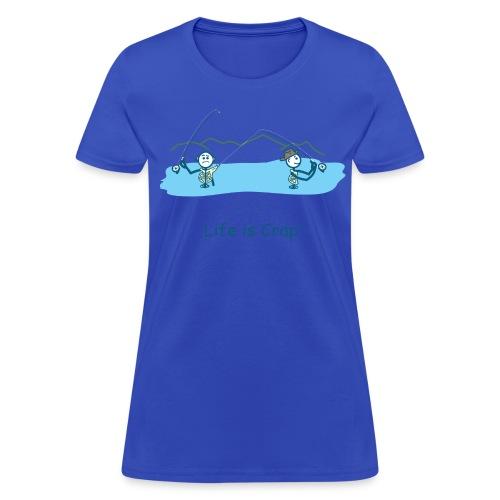Flyfishing Snag - Women's Classic Tee - Women's T-Shirt