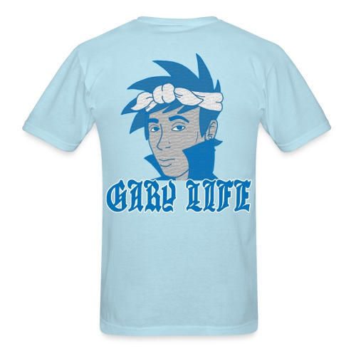 Gary Life T-SHirt - Blue Version - Men's T-Shirt