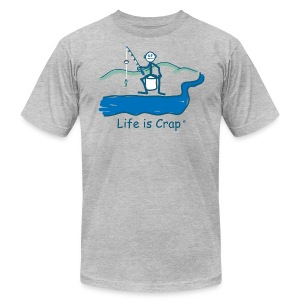Small Fish - Men's Tee by American Apparel - Men's T-Shirt by American Apparel