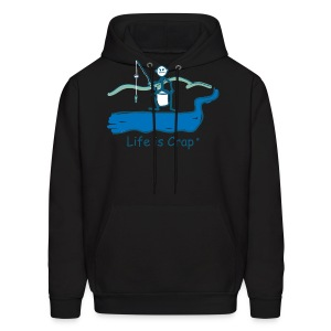Small Fish - Mens Hooded Sweatshirt - Men's Hoodie