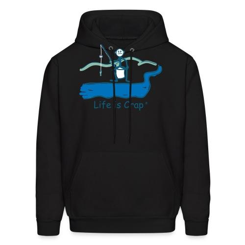 Small Fish - Mens Hooded Sweatshirt - Men's Hoodie