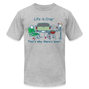 Thats Tailgating - Mens T-shirt by American Apparel - Men's T-Shirt by American Apparel