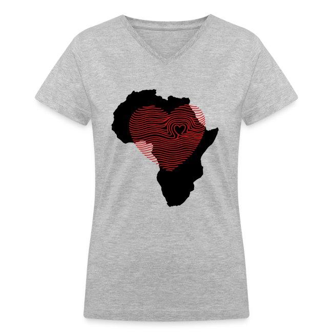Africa Fingerprint Tee