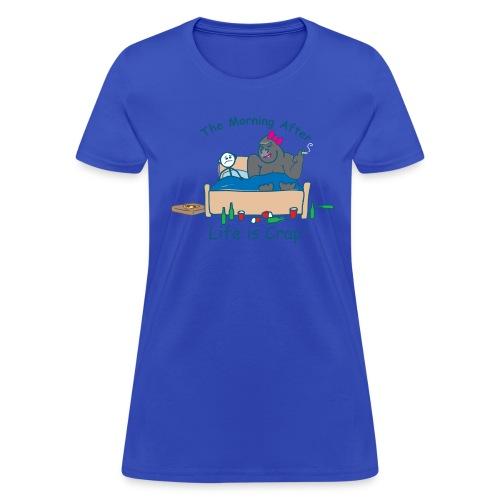 Morning After Guy - Womens Classic T-shirt - Women's T-Shirt