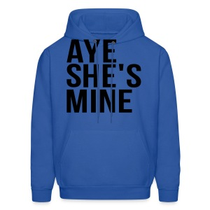 Couple Apparel - AYE SHE'S MINE - Men's Hoodie