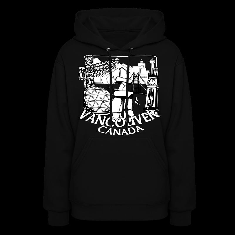Vancouver Souvenir Hoodie Vancouver Canada Hooded Sweatshirt - Women's Hoodie