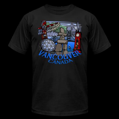 Vancouver T-shirt Men's Plus Size Vancouver Canada Shirt - Men's Fine Jersey T-Shirt