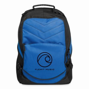 Blue Flewit Music Computer Backpack - Computer Backpack