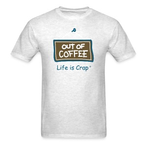 Out of Coffee Sign - Mens Classic T-shirt - Men's T-Shirt