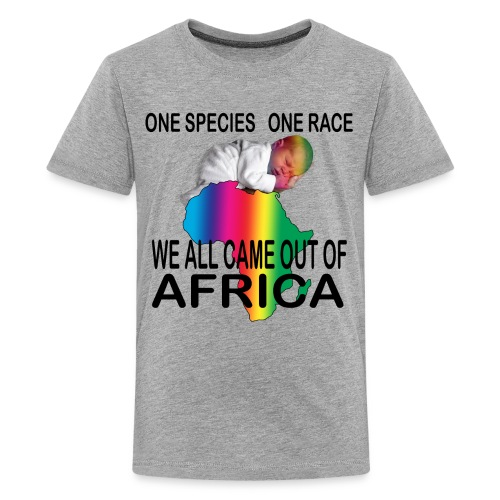 ONE SPECIES - ONE RACE Unity Science T-Shirt - Kids' Premium T-Shirt