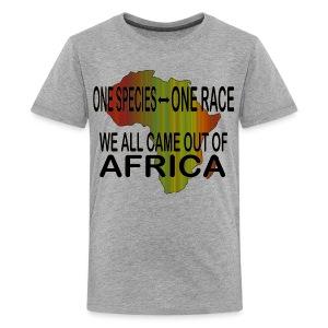 ONE SPECIES - ONE RACE Unity Science #2 T-Shirt - Kids' Premium T-Shirt