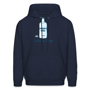 Absolutly Out Of Vodka - Mens Hooded Sweatshirt - Men's Hoodie