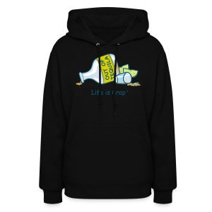Out Of Tequila - Womens Hooded Sweatshirt - Women's Hoodie
