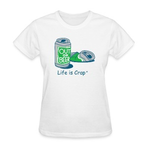 Out Of Beer - Womens Classic T-shirt - Women's T-Shirt