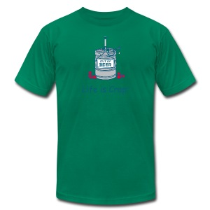 Out Of Beer Keg - Mens T-shirt by American Apparel - Men's T-Shirt by American Apparel