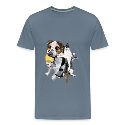Cartoon DUO Set Shiloh + Jax Men's Premium Shirt - Men's Premium T-Shirt