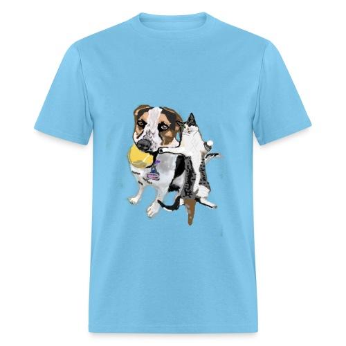 Cartoon DUO Set Shiloh + Jax Men's Shirt - Men's T-Shirt
