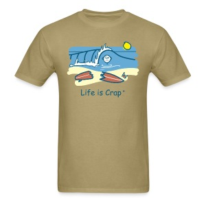 Surfing Wipeout - Mens Classic T-shirt - Men's T-Shirt