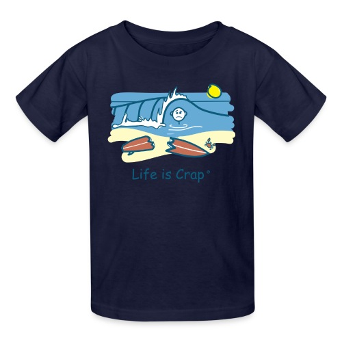 Surfing Wipeout - Kids T-shirt - Kids' T-Shirt