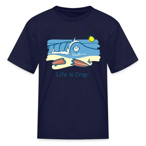 Surfing Wipeout - Kids T-shirt - Kids' T-Shirt