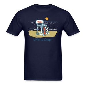 Beach Closed - Mens Classic T-shirt - Men's T-Shirt