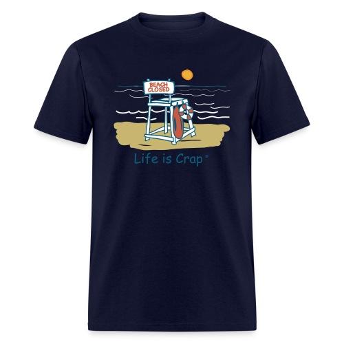 Beach Closed - Mens Classic T-shirt - Men's T-Shirt